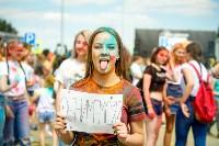 В Туле прошел фестиваль красок и летнего настроения, Фото: 73
