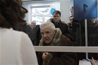 Владимир Груздев в Дубенском районе. 30 января 2014, Фото: 44