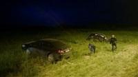 Авария на ночных гонках, Фото: 6