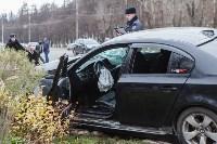 ДТП на пр. Ленина: BMW снес остановку, Фото: 16