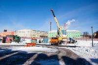Огромный снеговик на Казанской набережной, Фото: 8