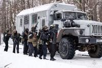 Учения: В Тульской области СОБР и ОМОН обезвредили вооруженных преступников, Фото: 9