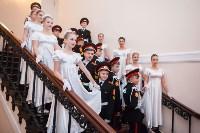 В колонном зале Дома дворянского собрания в Туле прошел областной кадетский бал, Фото: 2