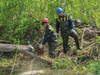 В Туле ведется расчистка Щегловского ручья от мусора, Фото: 6