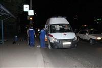 Мотоциклист сбил пешехода, Фото: 1