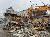 Снос незаконных павильонов в Заречье, Фото: 38