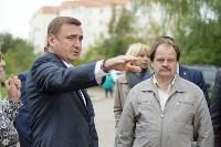 Алексей Дюмин посетил дом в Ясногорске, восстановленный после взрыва, Фото: 19