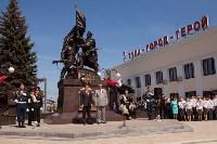 Открытие монумента и бронепоезда на Московском вокзале. 8 мая 2015 года, Фото: 61