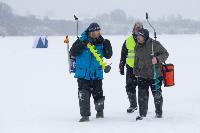 В Туле выбрали лучших рыбаков по ловле на блесну со льда, Фото: 36