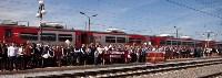 Открытие монумента и бронепоезда на Московском вокзале. 8 мая 2015 года, Фото: 30