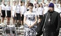 Площадь Ленина наполнили звуки хорового пения, Фото: 2