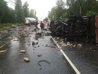 В жутком ДТП под Рязанью погиб житель Тульской области, Фото: 2