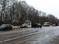На дороге «Тула-Новомосковск» Ford протаранил Chevrolet, Фото: 8