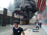 Загорелся недостроенный ТЦ на Красноармейском проспекте, Фото: 31