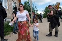 В Плеханово начали сносить дома в цыганском таборе, Фото: 144