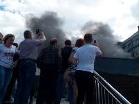 Загорелся недостроенный ТЦ на Красноармейском проспекте, Фото: 51