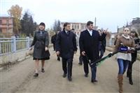 16 октября Владимир Груздев проконтролировал ход работ по благоустройству набережной, Фото: 5