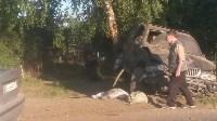 ДТП в Скуратово: BMW на дереве, Фото: 3