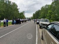 Жуткое ДТП в Суворове: проститься с погибшим полицейским пришли сотни человек, Фото: 3