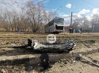 На ул. Щегловская Засека в Туле столкнулись автобус и кроссовер, Фото: 4