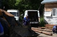 На Косой Горе ликвидируют незаконные врезки в газопровод, Фото: 15