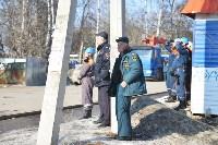 У дома, поврежденного взрывом в Ясногорске, демонтировали опасный угол стены, Фото: 41