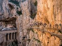 Прогулка по «Королевской тропе» в Испании. David Ramos, Getty Images, Фото: 22
