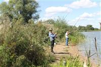 Тульские инвалиды-колясочники выехали на рыбалку, Фото: 23