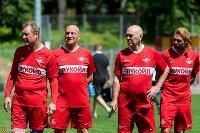 Ветераны «Спартака» и «Арсенала» сыграли в Туле на новом поле Центрального стадиона, Фото: 35