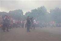 """Файер-шоу от болельщиков """"Арсенала"""". 16 мая 2014 года, Центральный парк, Фото: 10"""
