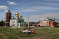Установка шпиля на колокольню Тульского кремля, Фото: 21