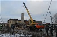 Взрыв баллона с газом на Алексинском шоссе. 26 декабря 2013, Фото: 7