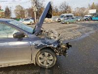 На Щекинском шоссе в Туле произошло тройное ДТП, Фото: 3