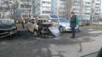 Сгорели иномарки, Фото: 10
