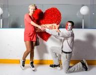 """""""Ночной лёд"""" в честь Дня святого Валентина, Фото: 7"""
