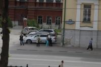 Установка шпиля на колокольню Тульского кремля, Фото: 27