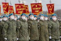 В Туле прошла первая репетиция парада Победы: фоторепортаж, Фото: 31