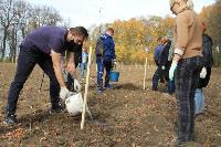 Депутаты Тульской областной Думы высадили яблони в Тургеневской усадьбе, Фото: 14