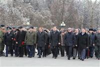 Возложение цветов к памятнику на площади Победы. 21 февраля 2014, Фото: 1
