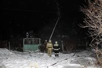В пос. Менделеевский сгорел частный дом., Фото: 14