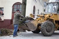 Тульские жилищники вышли на субботник, Фото: 13