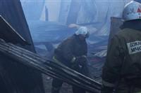 Пожар на хлебоприемном предприятии в Плавске., Фото: 22