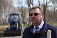 Посадка деревьев в Комсомольском парке, Фото: 42