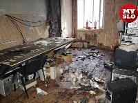 В Петелинской психиатрической больнице произошел пожар, Фото: 8