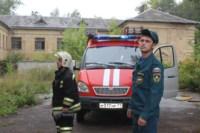 В Скуратово загорелось заброшенное училище, Фото: 13