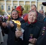 Пасхальный крестный ход и встреча благодатного огня, Фото: 95