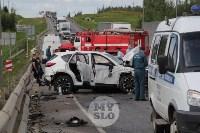 В ДТП под Тулой погибли три сотрудника УФСИН, Фото: 12