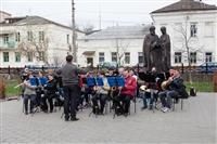 Оркестр в Кремлевском саду, Фото: 2