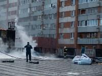 Загорелся недостроенный ТЦ на Красноармейском проспекте, Фото: 54