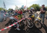 Юные мотоциклисты соревновались в мотокроссе в Новомосковске, Фото: 38